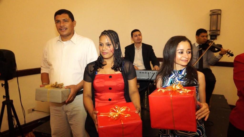 Entrega de regalos