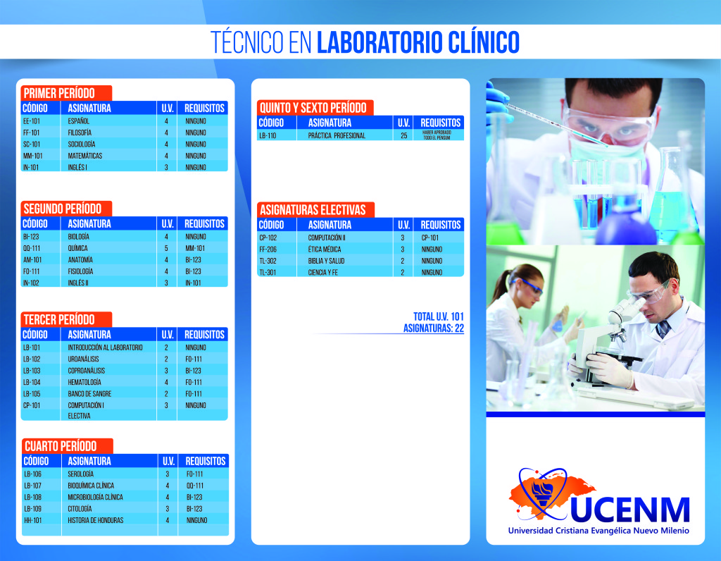 Técnico en Laboratorio Clínico